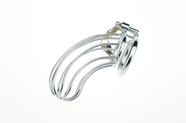 New CB709 Stainless steel Male Chastity Cage Device Belt Bondage UA1 Best Gift