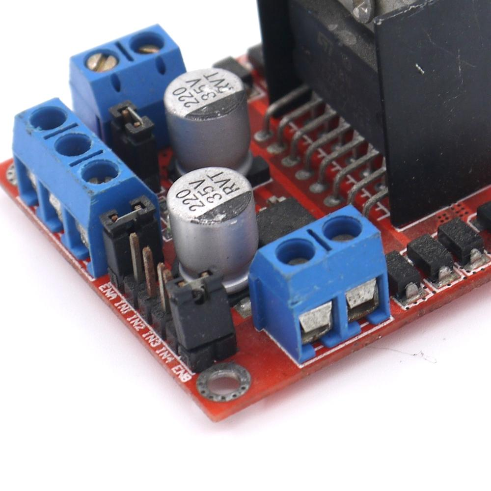 1pcs stepper motor drive controller board module l298n for Driving stepper motor with arduino