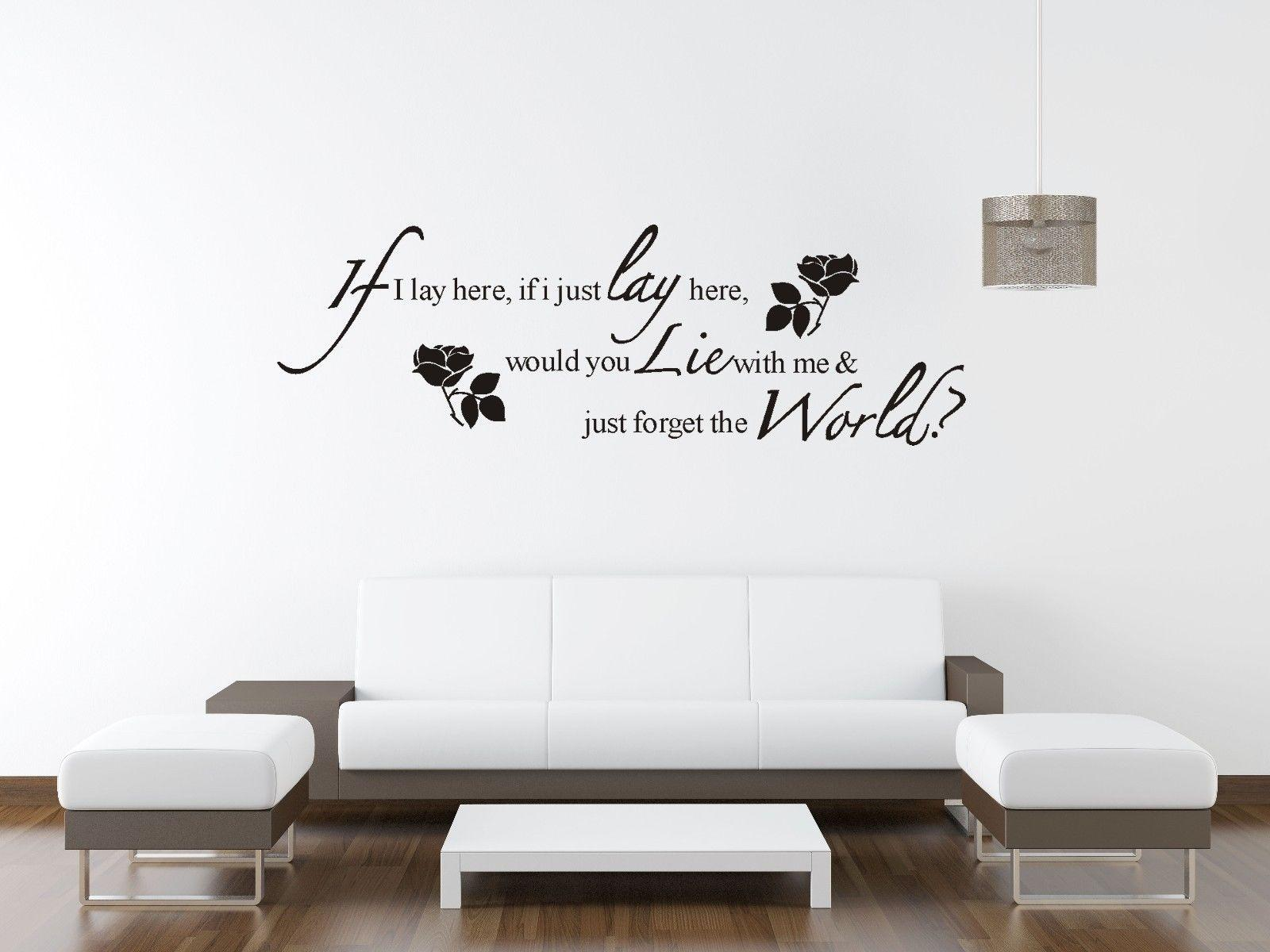 Removable Wall Art Decals Quotes : Removable wall vinyl quote words letter sticker art mural