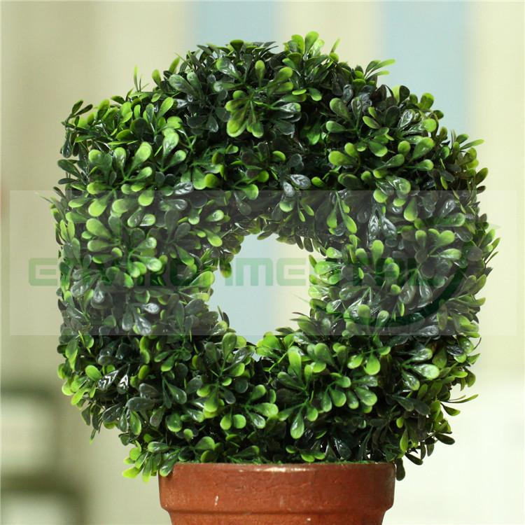 Ring Grass Artificial Fake Plants Plastic Bunches Trees